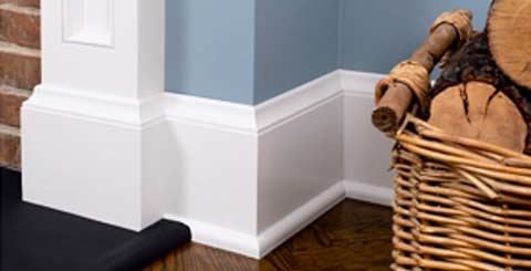 Hardwood & MDF Mouldings Baseboards