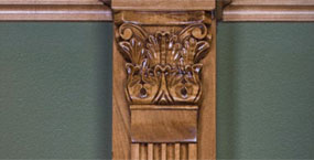 Wood Carvings Capitals