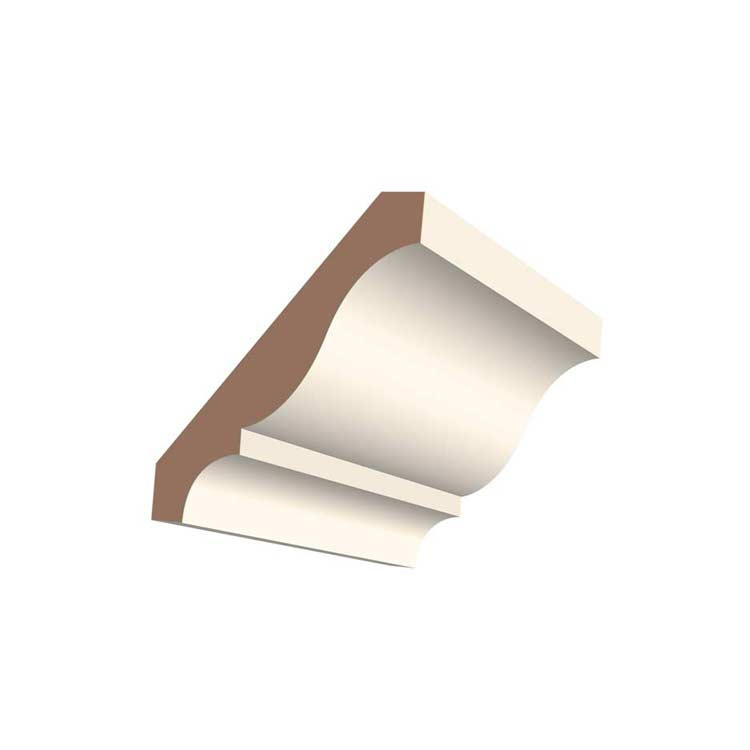 "3-1/4"" 405MUL MDF Colonial Crown Moulding"