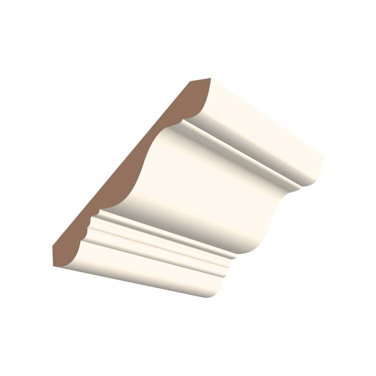 4-1/4in 413MUL MDF Small #410 Crown Moulding