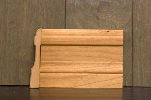 4-1/4 Inch B1 Colonial Baseboard Cherry