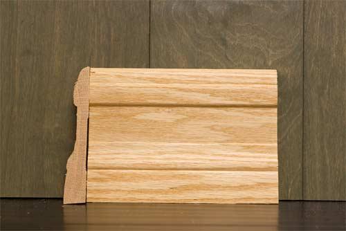 4-1/4 Inch B1 Colonial Baseboard Oak