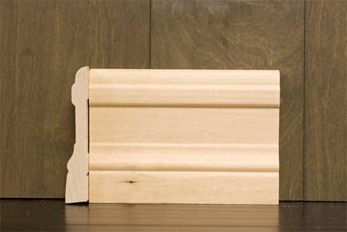 4-1/4 Inch B1 Colonial Baseboard Poplar