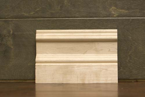 4-1/4 Inch B2 Crescent Baseboard Maple