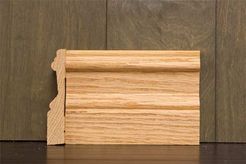 4 1 4 Inch B2 Crescent Baseboard Cherokee Wood Products