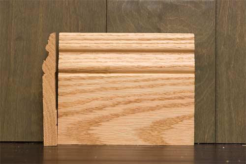 6 Inch B6 Amsterdam Baseboard Oak
