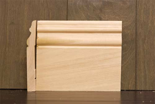 6 inch B6 Amsterdam Baseboard Poplar