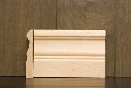 4in B318 Cape Code Baseboard Poplar