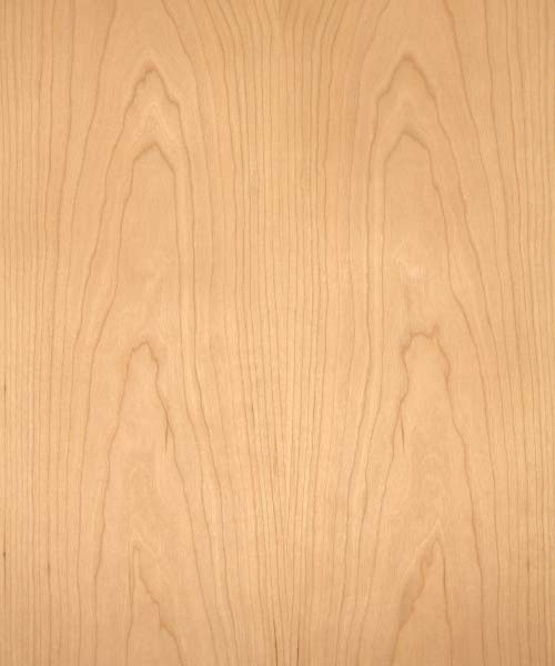 Cherry Veneer Real Wood 10mil Paper Back Cherokee Wood