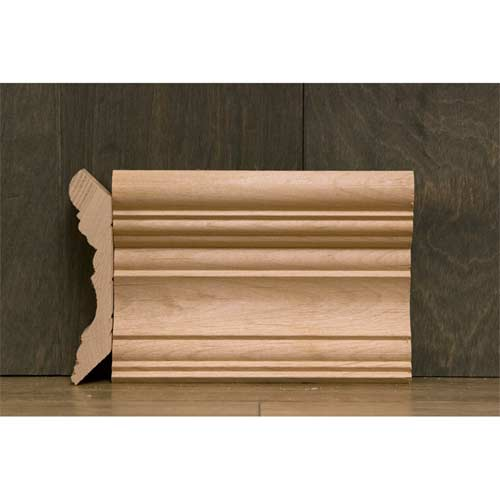 4-3/8 In CR-2 Georgian Crown Moulding Alder