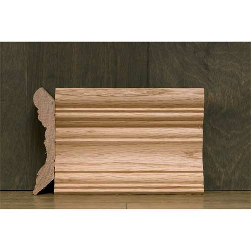 4-3/8 In CR-2 Georgian Crown Moulding Oak