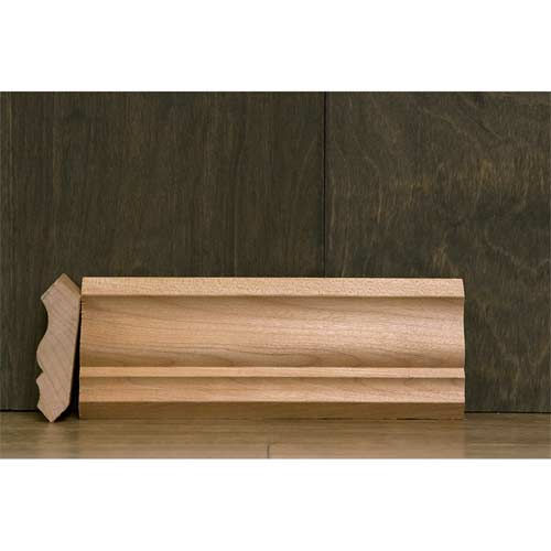 2-1/4 In CR-4 Colonial Crown Moulding Alder