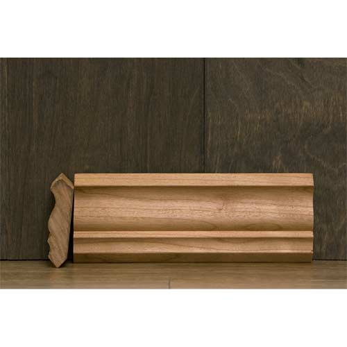 2-1/4 In CR-4 Colonial Crown Moulding Cherry