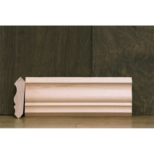 2-1/4 In CR-4 Colonial Crown Moulding Maple