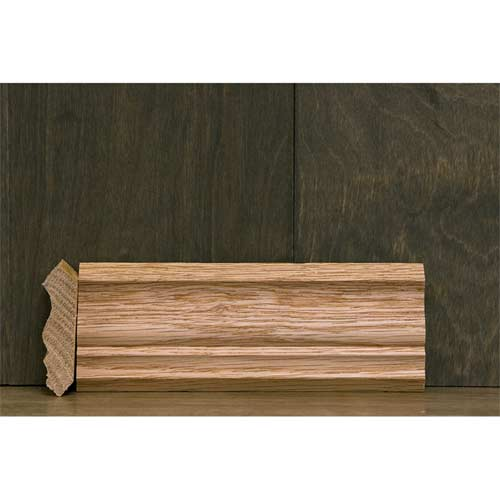 2-1/4 In CR-4 Colonial Crown Moulding Oak