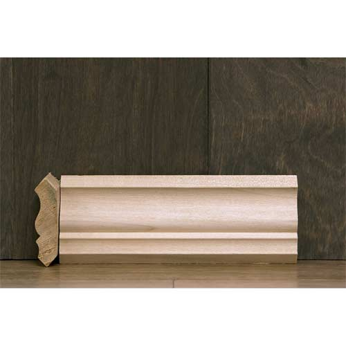 2-1/4 In CR-4 Colonial Crown Moulding Poplar