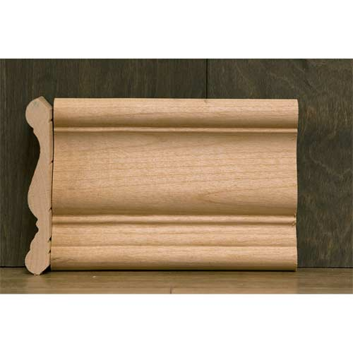 4-1/4 in CR-5 Small #410 Crown Moulding Alder