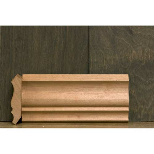 2-3/4 In CR-6A Colonial Crown Moulding Cherry