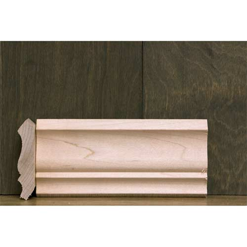 2-3/4 In CR-6A Colonial Crown Moulding Maple