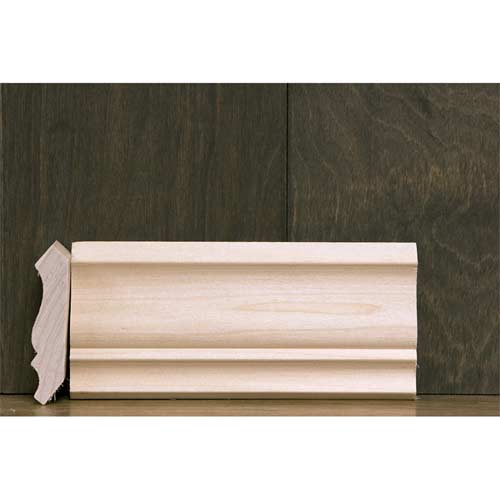 2-3/4 in CR-6A Colonial Crown Moulding Poplar