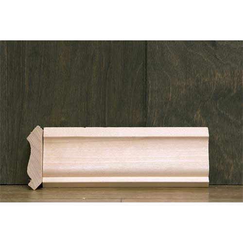 2-1/4in CR-6 Crown Moulding Poplar