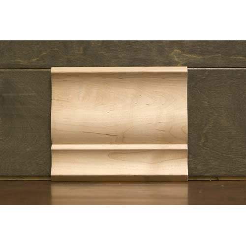 5-1/4in CR-9 Colonial Crown Moulding Maple