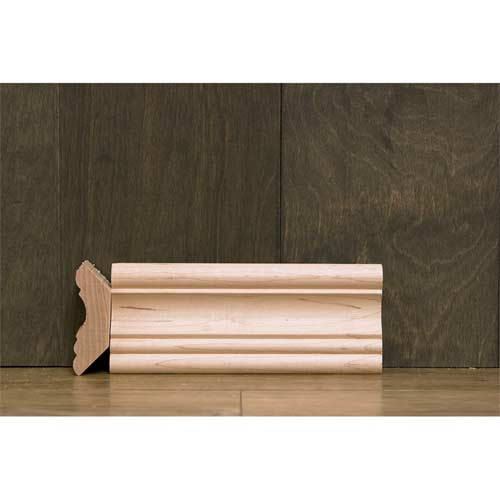 2-1/2 In CR11 Maple Cornice Crown Moulding
