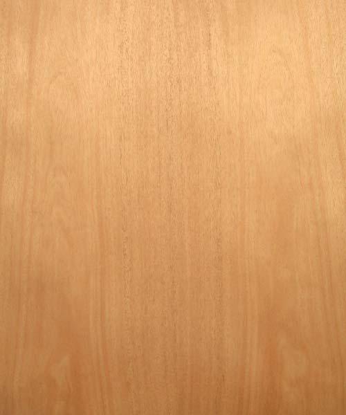 African Mahogany Veneer Real Wood 10mil Paper Back