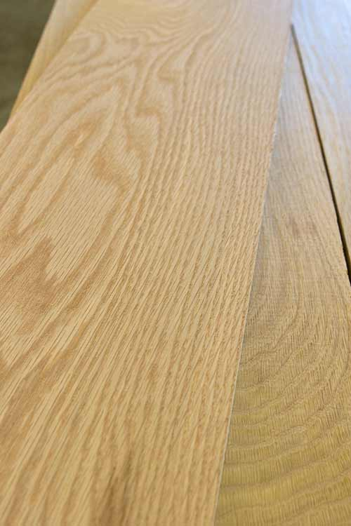 White Oak Lumber Cherokee Wood Products