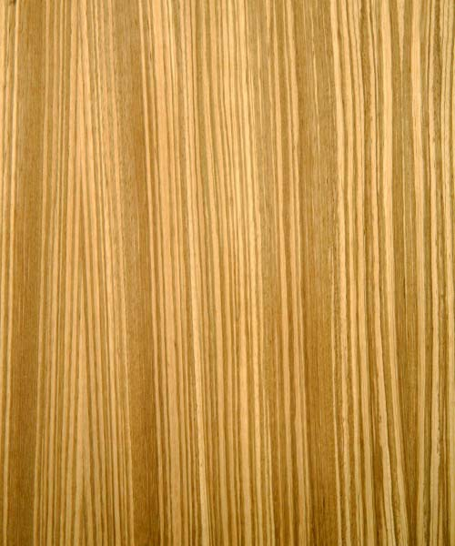 Zebrawood Veneer Real Wood 10mil Paper Back