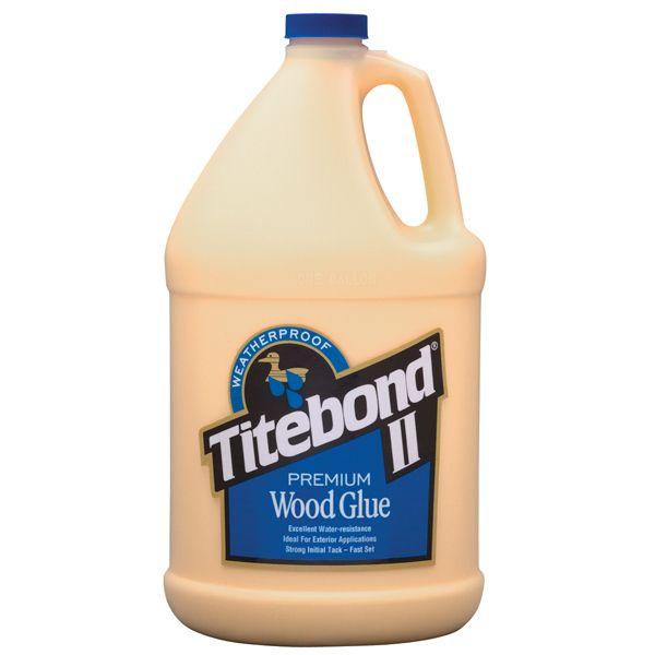 1 Gallon Titebond II Premium Wood Glue