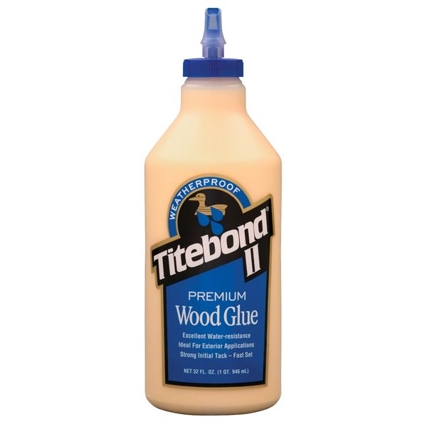1 Quart Titebond II Premium Wood Glue