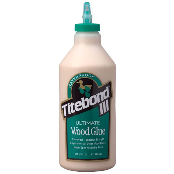 1 Quart Titebond III Ultimate Wood Glue