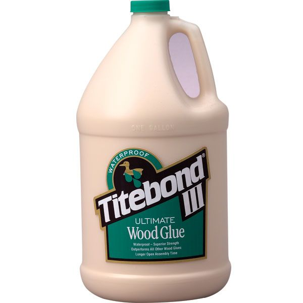 1 Gallon Titebond III Ultimate Wood Glue