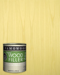 Famowood Ash Wood Filler Putty