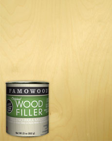Famowood White Birch Wood Filler Putty