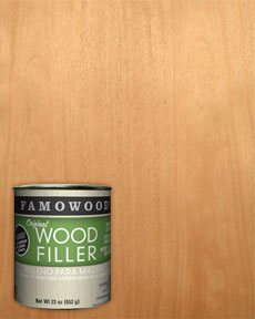 Famowood Mahogany Wood Filler Putty