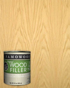Famowood Red Oak Wood Filler Putty