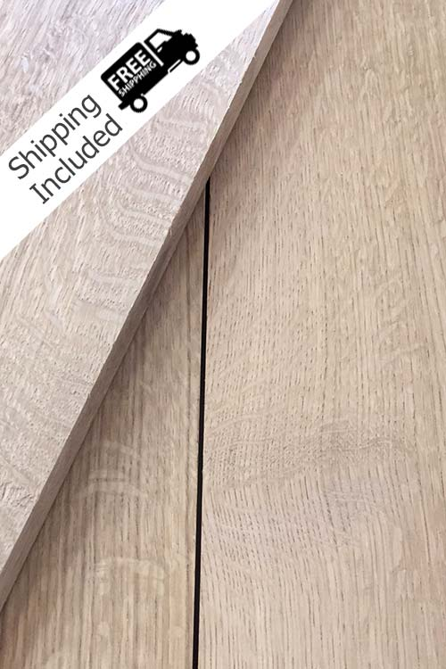 Quarter Sawn White Oak Lumber Pack