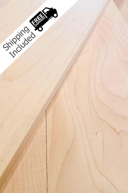Soft Maple Lumber Project Packs