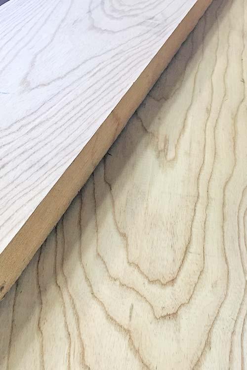 Swamp Ash Lumber