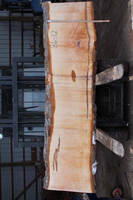 Hard Maple Live Edge Slab 86-12