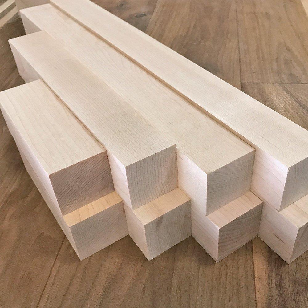 Hard Maple Turning Blanks