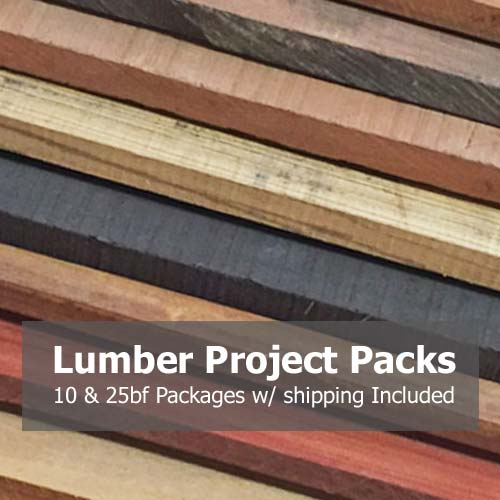 Lumber Project Packs Woodworking Supplies