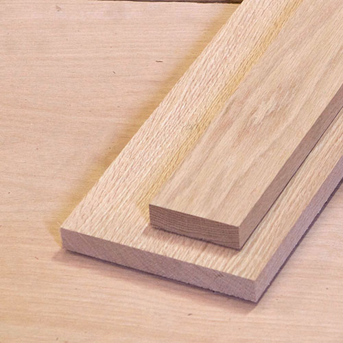 Red Oak Dimensional Lumber