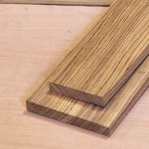 Zebrawood Dimensional Lumber