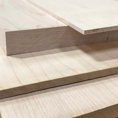 Maple Dimensional Lumber