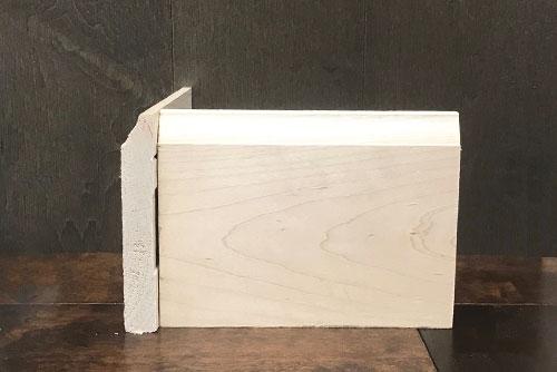 "#620 4-1/2"" Maple Baseboard"