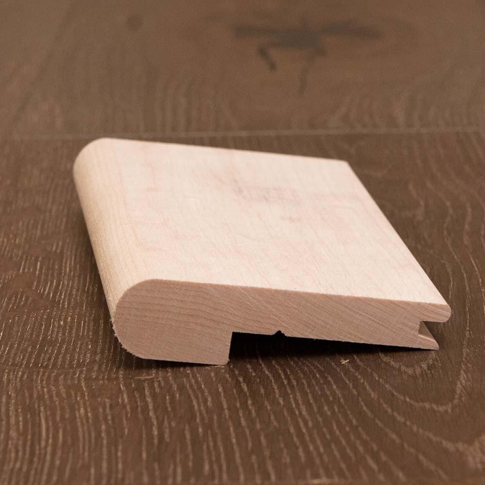 White Oak Hardwood Stair Nosing 1/2