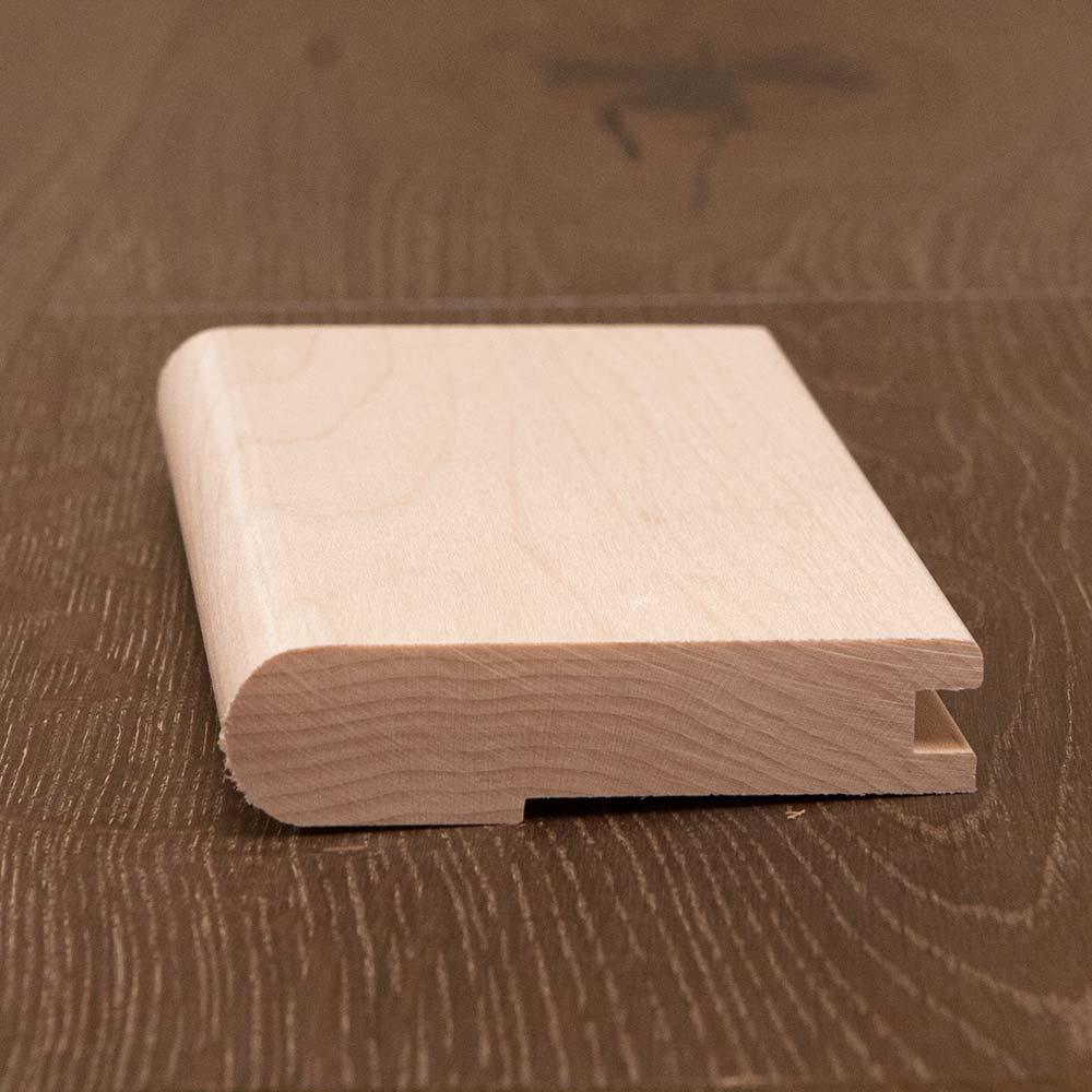 White Oak Hardwood Stair Nosing 3/4